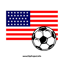 États-unis clip art – Football gratuite