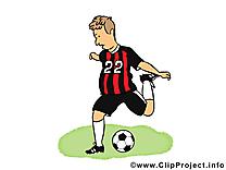 Football coup illustration à télécharger gratuite