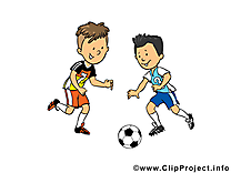 Football dessin - footballeurs cliparts à télécharger