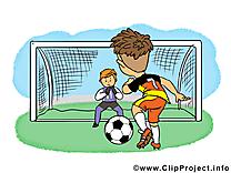 Football illustration à télécharger gratuite