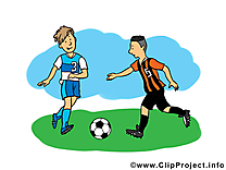 Footballeur dessin à télécharger - Football images