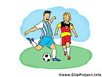 Footballeurs cliparts gratuis - Football images