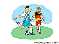 Footballeurs cliparts gratuis - Football images
