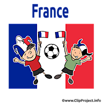 Footeux clipart illustration France