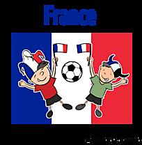 Footeux clipart illustration France