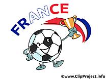 France football clip art gratuit