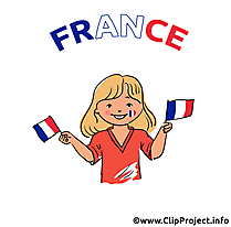 French woman football image