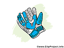 Gants clipart - Football dessins gratuits