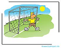 Gardien dessin à télécharger - Football images
