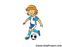 Illustration à télécharger football gratuite