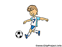 Image gratuite football illustration