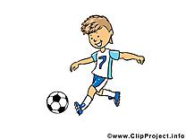 Image gratuite football illustration