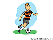 Jeu clip arts gratuits - Football illustrations