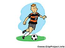 Jeu clip arts gratuits - Football illustrations