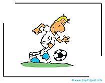 Joueur clip art – Football gratuite
