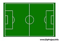 Terrain dessin - Football cliparts à télécharger
