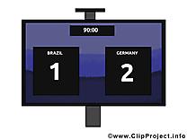 TV images - Football dessins gratuits