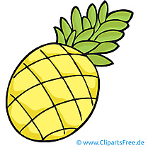 Ananas image gratuite - Fruits cliparts