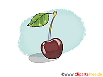 Cerise clip arts gratuits - Fruits illustrations