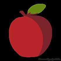 Cliparts pomme gratuis - Fruits images