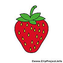 Fraise image à télécharger - Fruits clipart