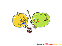 Image gratuite fruits illustration