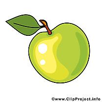 Pomme cliparts gratuis - Fruits images