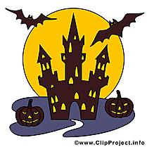 Chauves-souris dessin - Halloween clip arts gratuits