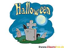 Cimetière image gratuite - Halloween cliparts