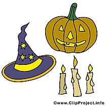 Citrouille dessin gratuit - Halloween image