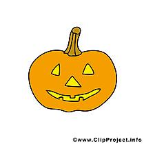 Citrouille image gratuite - Halloween cliparts