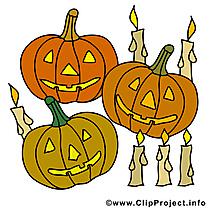 Citrouilles images - Halloween clip art gratuit