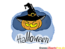 Courge clip art gratuit - Halloween dessin