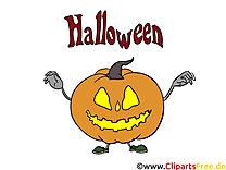 Courge clipart - Halloween dessins gratuits