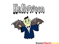 Dracula clip arts gratuits - Halloween illustrations