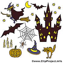 Halloween cliparts gratuis images à télécharger