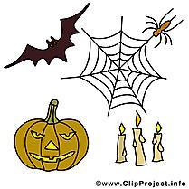 Halloween courge illustration à télécharger gratuite
