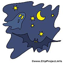 Image gratuite chauve-souris - Halloween cliparts