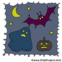 Image gratuite nuit – Halloween clipart