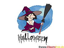Sorcièr dessins gratuits - Halloween clipart