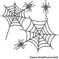 Toile d'araignée Halloween image à télécharger gratuite