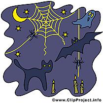 Toile d'araignée image - Halloween images cliparts
