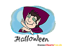 Vampire image gratuite - Halloween illustration