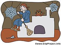 Vieille sorcière images - Halloween dessins gratuits