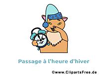 Chat clip art gratuit – Hiver images