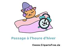 Chat image gratuite - Hiver cliparts