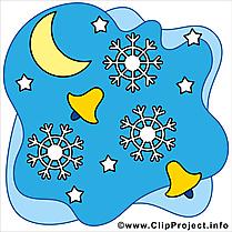 Croissant image gratuite - Hiver illustration
