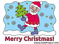 Joyeux Noël images - Père  clip art gratuit