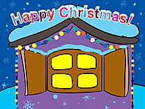 Maison clip art gratuit – Noël images