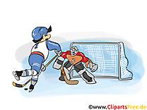 But clip arts gratuits - Hockey illustrations